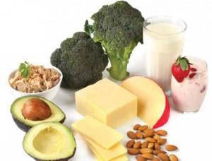 alimentos cálcio