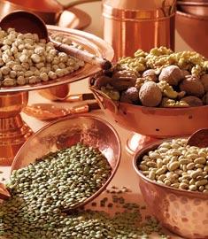 alimentos que contem cobre