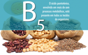 vitamina b5 acido pantotenico
