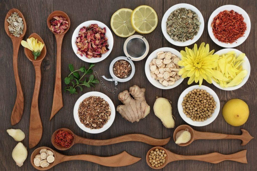 Chás e Ervas Medicinais