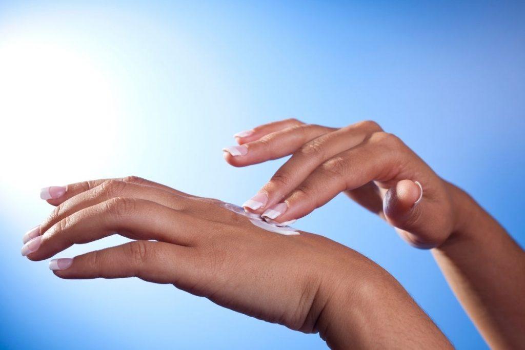 Hidratante para as mãos