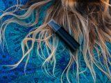 mousse para cabelos