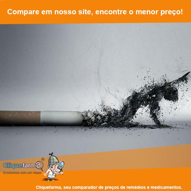 A foto que deixou de fumar antes e depois