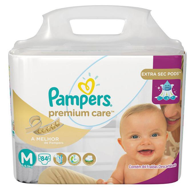 Fralda Pampers