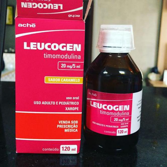 Leucogen para infeccoes respiratorias 1