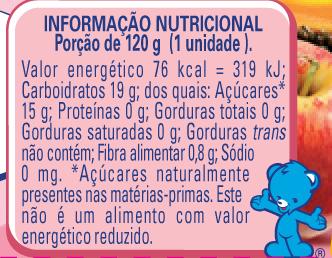 Papinha Nestlé de Frutas Sortidas com 120g