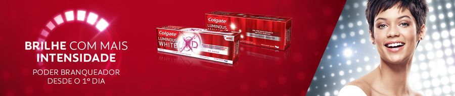Creme Dental Colgate Luminous White Leve 3 Pague 2 70g cada