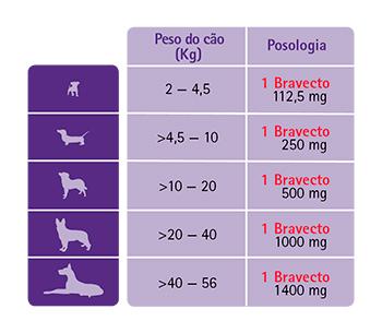 Bravecto Contra Pulgas e Carrapatos para Cães