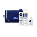 Preço e onde comprar Kit Espuma De Barbear + Bálsamo + Desodorante Aerosol Sensitive Nivea Kit Contém 1 Necessaire + Espuma Barbear + Balsamo + Desodorante Aerosol