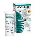 Accu - Chek Active Controle De Glicose Tiras 50 Unidades