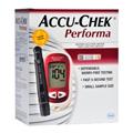 Kit Accu-chek Performa Com Monitor E 10 Lancetas E 10 Tiras E Lancetad