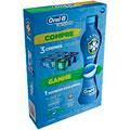 Preço e onde comprar Oral B Kit 3 Creme Dentais Limpeza Profunda + Acao Duradoura Gratis Squezze