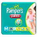 Fraldas Pampers Pants M - 20un.