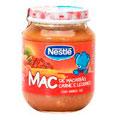 Nestle Alimento Infantil Baby Carne Macarrao 6 Unidades De 170g Cada
