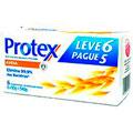 Protex Sabonete Antibacteriano Aveia 90g Leve 6 Pague 5