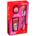 Colgate Kit Gel Dental Kids Smiles Barbie E Escova E Relogio