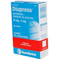 Diupress - 25mg 20 Comprimido(s)