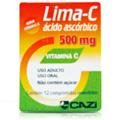 Vitamina - C- Lima-c 500mg Com 12 Comprimidos