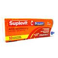 Vitamina C - Suplevit C Prevent 1 Grama Com 10 Comprimidos Efervescentes