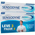 Creme - Dental Sensodyne Rápido Alivio Com 50 Gramas - Leve 3 Pague 2