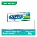 Creme Fixador De Dentadura Ultra Corega Sabor Menta Gsk 19g