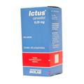Preço e onde comprar ICTUS 6,25 MG COM 60 COMPRIMIDOS