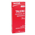 Preço e onde comprar Talerc 10 Mg, 10 Comprimidos Revestidos, Ache
