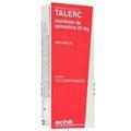 Preço e onde comprar Talerc 20mg 10 Comprimidos