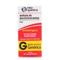 Mal Dexclorfeniramina 2 Mg Blister 20 Comprimidos - Neo Quimica