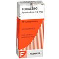 Preço e onde comprar Loralerg 10mg Com 10 Comprimidos