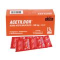 Preço e onde comprar Acetildor Infantil 100mg 10 Comprimidos