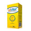 Vitamina - D - Dêviter Solução Oral Gotas Sabor Limão Com 20 Ml