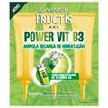 Ampola Power Vitamina B3 C 3 15 Ml - Garnier Fructis