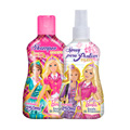 Kit Biotropic Barbie Escola De Princesas Shampoo E Spray Para Pentear 250ml E 250ml