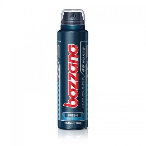 Desodorante Bozzano Aerosol Antitranspirante Fresh 90g