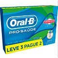 Creme dental oral-b pro-saúde com escudo anti-açúcar leve 3 pague 2